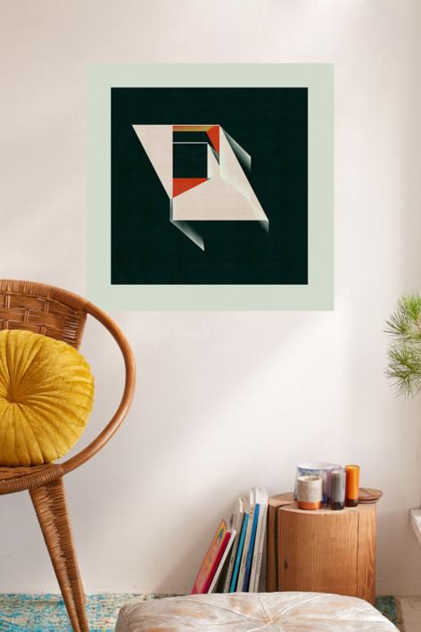 Abstract composition 923 | Digital de Jesús Perea | Compra arte en Flecha.es
