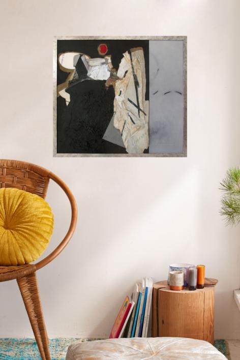 Antonio y Belen | Collage de Raul Eberhard | Compra arte en Flecha.es