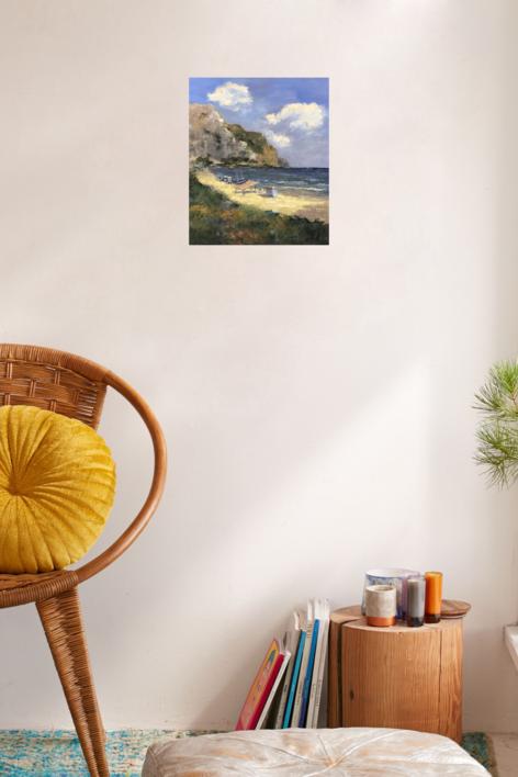 Playa | Pintura de Jesus | Compra arte en Flecha.es