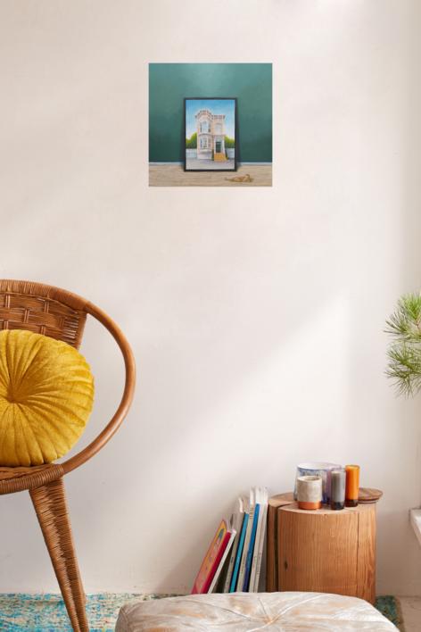La Conversación II | Pintura de Rosa Alamo | Compra arte en Flecha.es