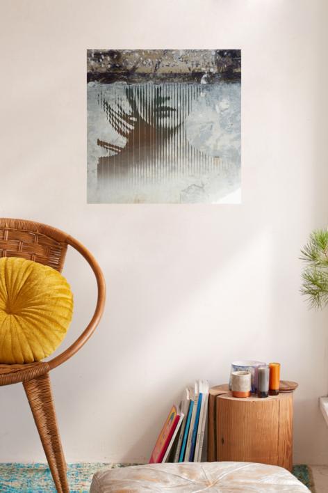 El rostro ausente | Digital de Albarran | Compra arte en Flecha.es