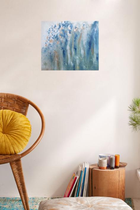 CM [aguas] XXIV   Pintura de Elisa de la Torre   Compra arte en Flecha.es