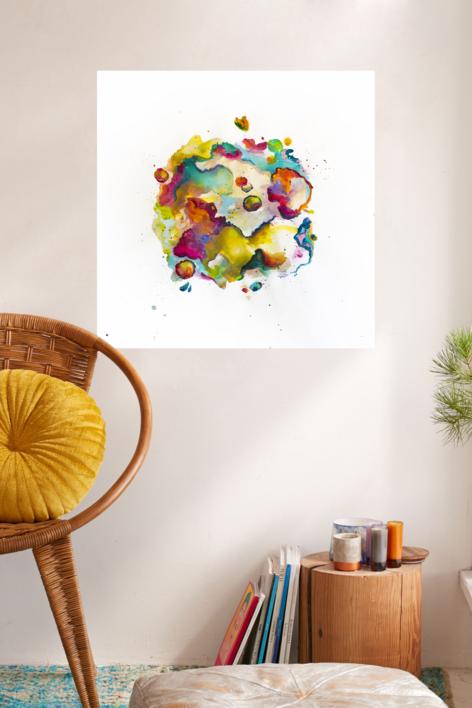 Cenotes II | Obra gráfica de Misterpiro | Compra arte en Flecha.es