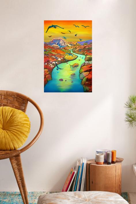 Beautiful Day | Digital de Helena Revuelta | Compra arte en Flecha.es