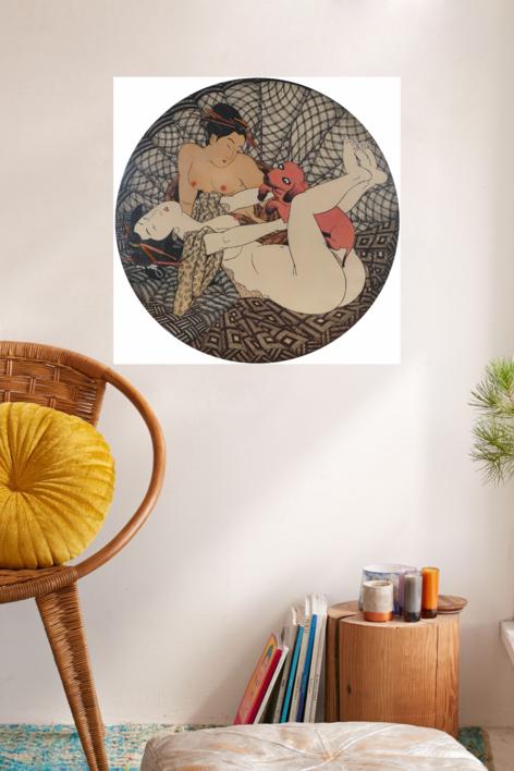 AI TOKYO. 6. Trio. | Obra gráfica de Fernando Bellver | Compra arte en Flecha.es