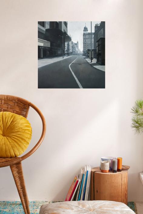 Calle Jacometrezo | Pintura de Orrite | Compra arte en Flecha.es