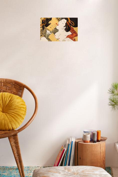 Abrazo   Obra gráfica de Fernando Bellver   Compra arte en Flecha.es