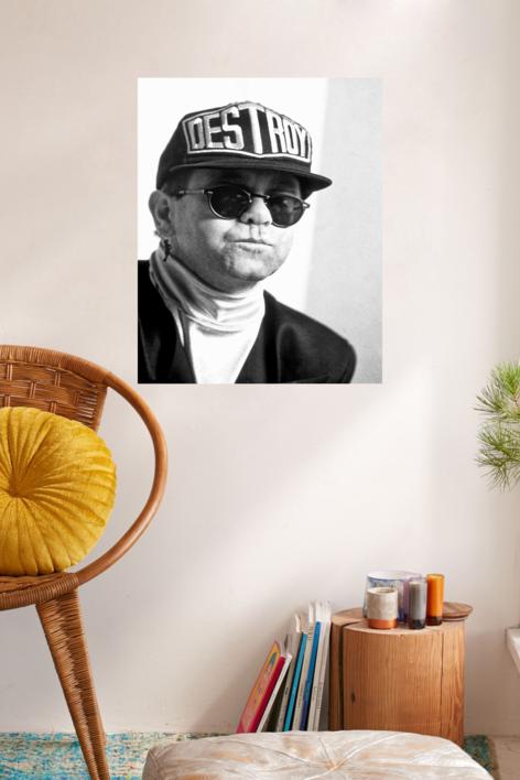Elton John | Fotografía de Domingo J. Casas | Compra arte en Flecha.es
