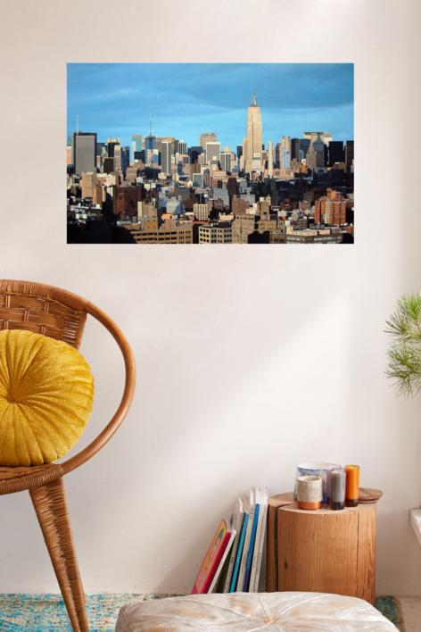 NYC   Pintura de Borja Abós   Compra arte en Flecha.es