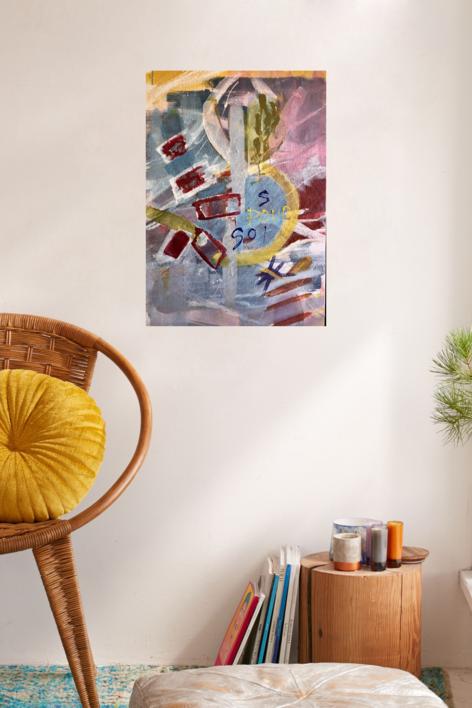 POUR SOI | Pintura de Iraide Garitaonandia | Compra arte en Flecha.es