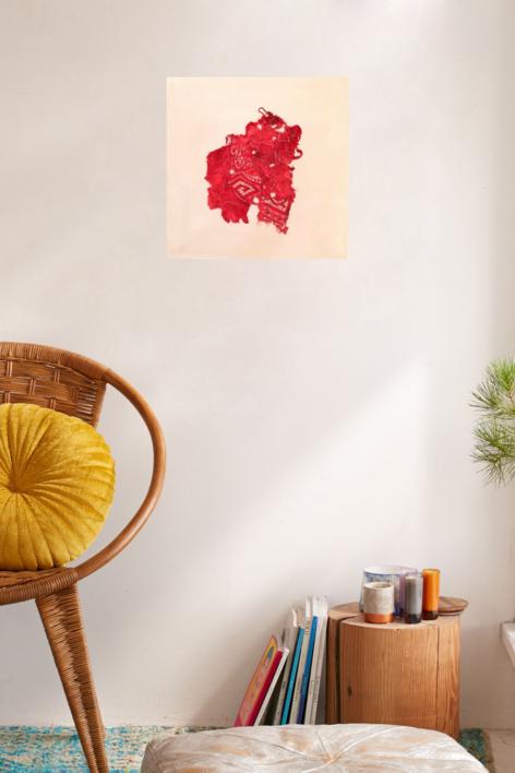 Stitching Up, Ironing Out, Flattening Down IV   Collage de Barbara Long   Compra arte en Flecha.es