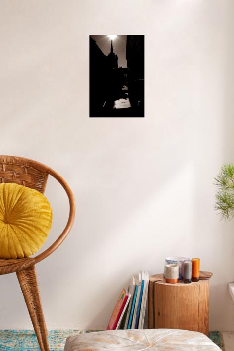 Contraluz El Escorial | Fotografía de Enrique Pazos | Compra arte en Flecha.es