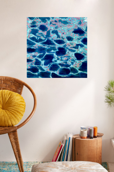 Seawater | Pintura de Yanespaintings | Compra arte en Flecha.es