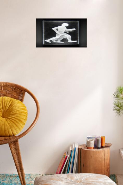Muybridge  - Carrera | Dibujo de David Ortega | Compra arte en Flecha.es