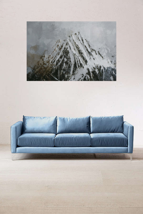 Montaña 2018   Pintura de Calo Carratalá   Compra arte en Flecha.es