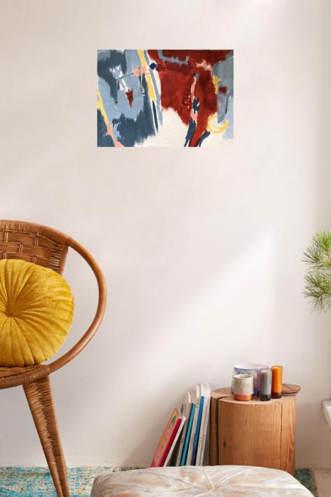 MAPA | Pintura de Iraide Garitaonandia | Compra arte en Flecha.es