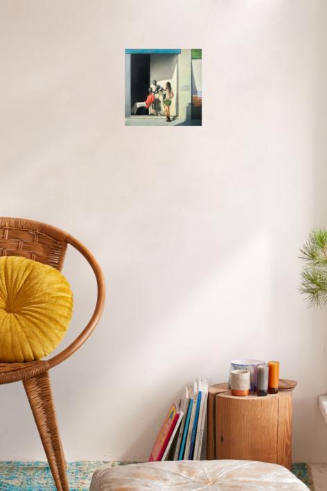 Escaparate IV | Pintura de Orrite | Compra arte en Flecha.es