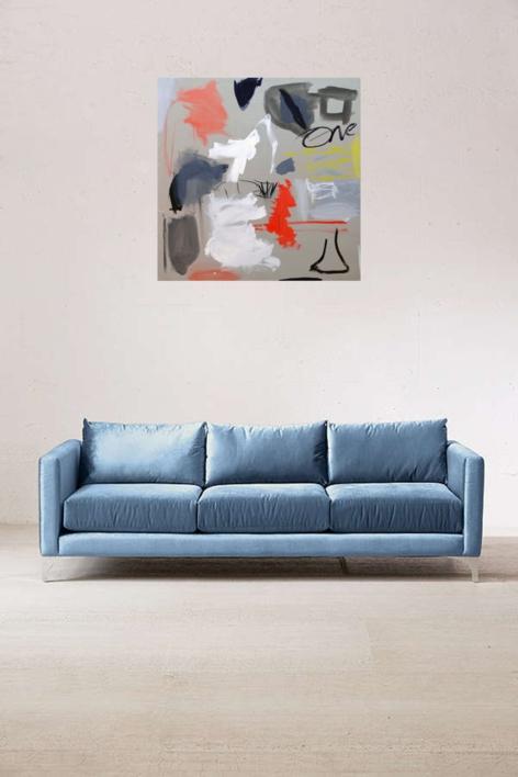 One   Pintura de Eduardo Vega de Seoane   Compra arte en Flecha.es