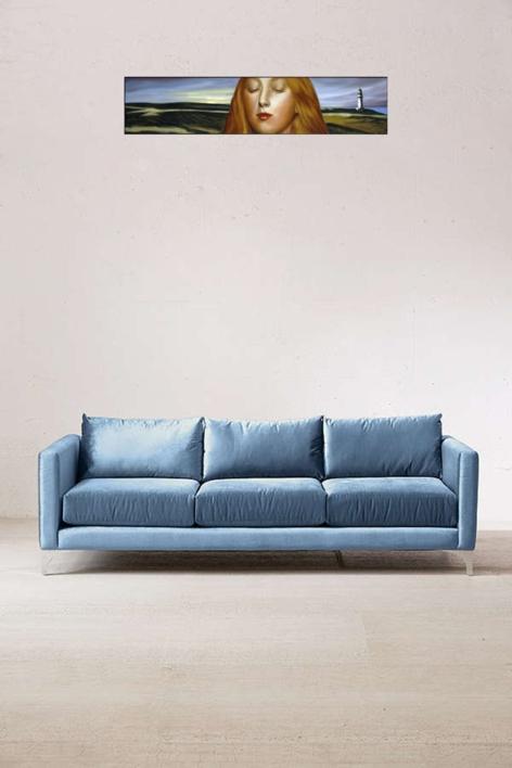 Faro   Collage de Enrique González   Compra arte en Flecha.es