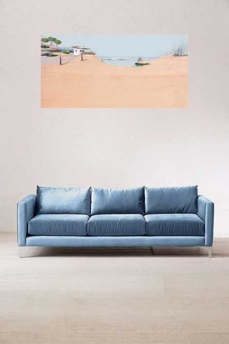 Sedentarios 151 | Collage de Eduardo Query | Compra arte en Flecha.es