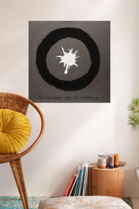 La luz está en el interior | Pintura de Juan Manuel Leiva | Compra arte en Flecha.es