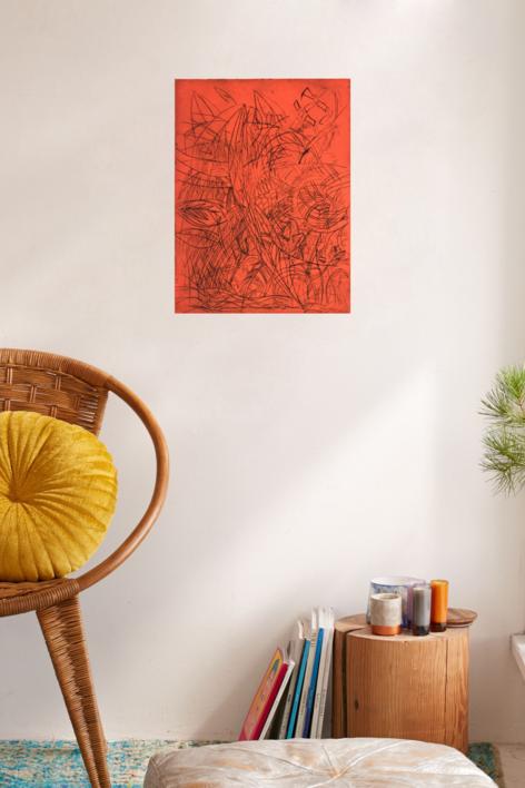 Sin Título | Obra gráfica de Isabel Martin | Compra arte en Flecha.es