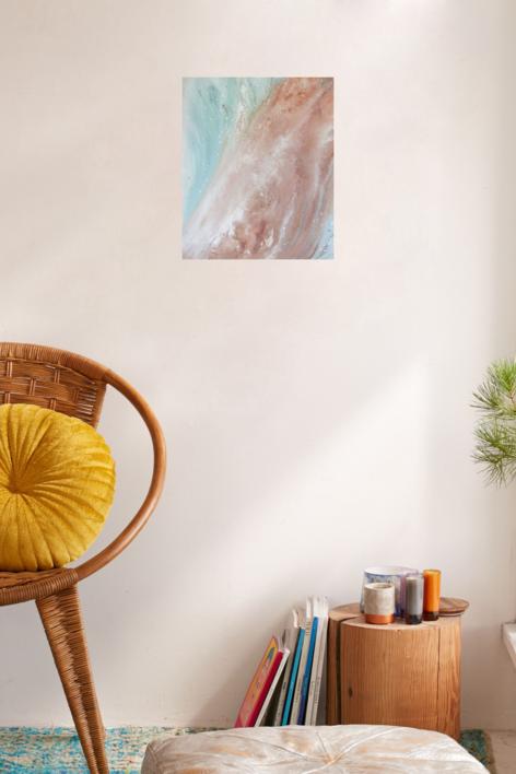CM [tierras] XXIII | Pintura de Elisa de la Torre | Compra arte en Flecha.es
