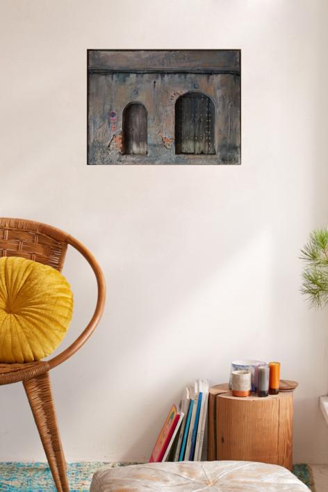 La huella del tiempo (I) | Collage de MoVico | Compra arte en Flecha.es
