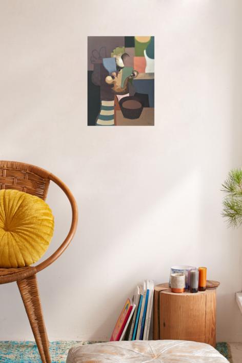 Cold soup | Pintura de Carlos Blanco Artero | Compra arte en Flecha.es