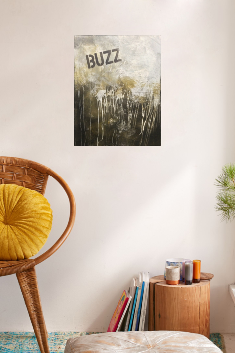 BUZZ | Pintura de Ana Dévora | Compra arte en Flecha.es