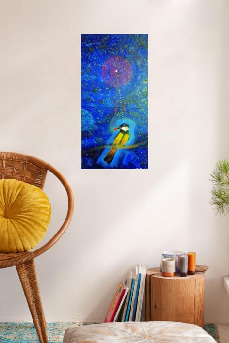 Sirio. Alpha Canis Majoris | Pintura de El Hortelano | Compra arte en Flecha.es