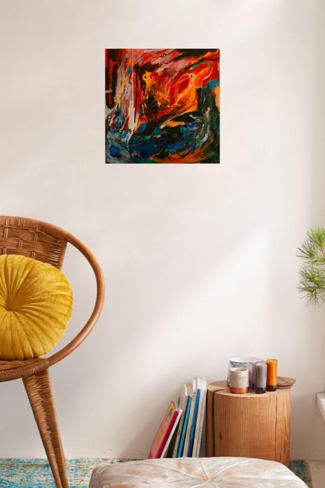 Gárcia Lorca 1936 | Pintura de Lika | Compra arte en Flecha.es