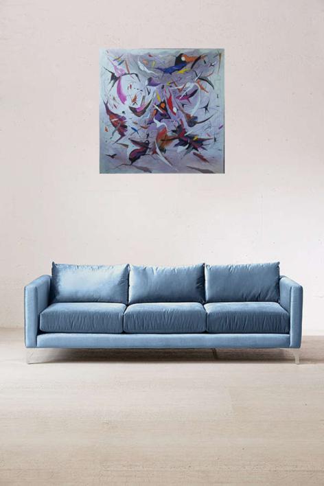 Un bel dì vedremo - Madame Butterfly de Giacomo Puccini | Pintura de Valeriano Cortázar | Compra arte en Flecha.es