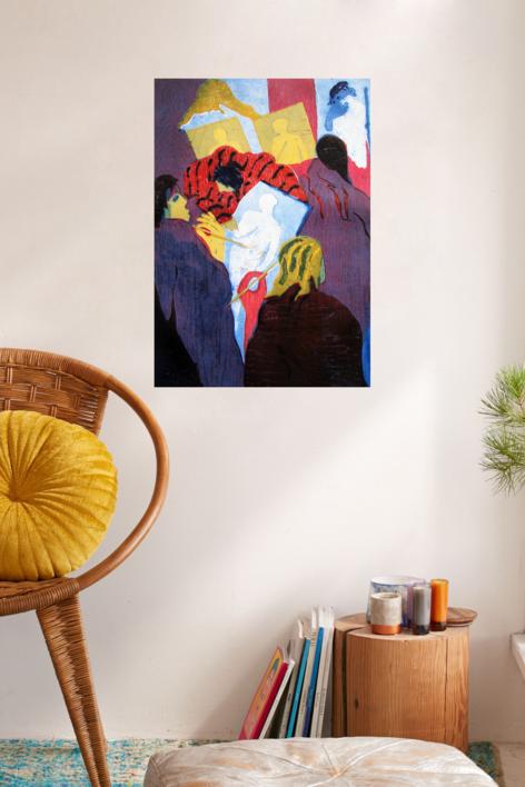 El estudio II | Obra gráfica de Jenifer Carey | Compra arte en Flecha.es