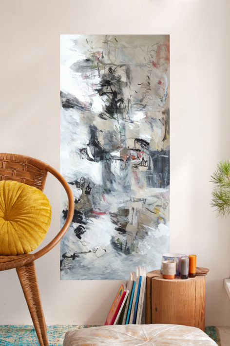 EL ANCHO CORAZÓN DE LOS HÉROES | Pintura de Sargam | Compra arte en Flecha.es