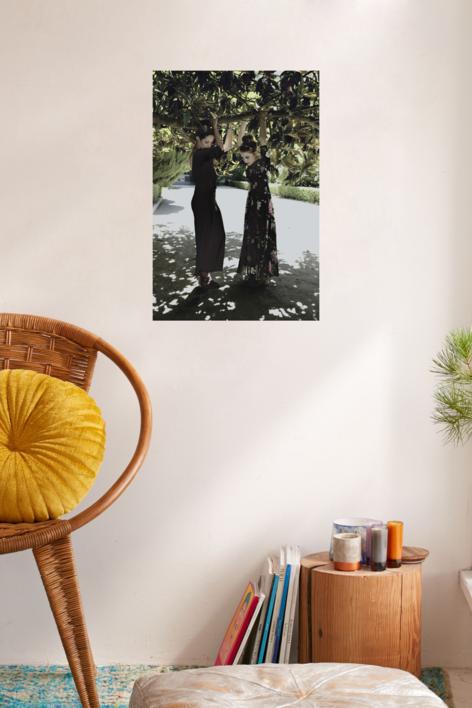 PRINCESAS EN SABATINI | Fotografía de Carlota Lobo | Compra arte en Flecha.es