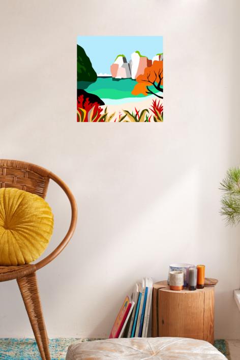 Mar caribeño   Digital de ALEJOS   Compra arte en Flecha.es