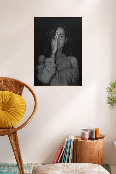 Recelo | Dibujo de Jose Díaz Ruano | Compra arte en Flecha.es