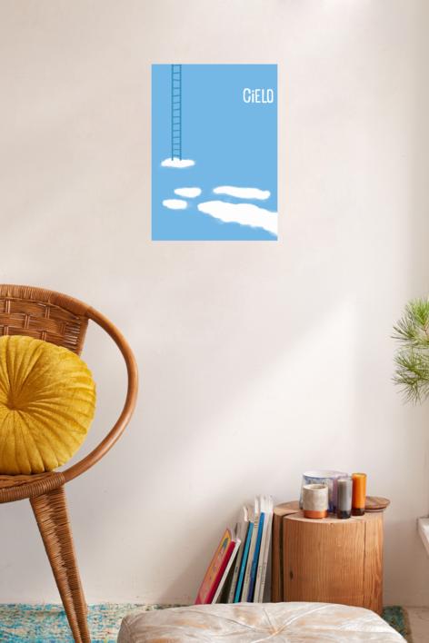 Cielo | Digital de JuanjoGasull | Compra arte en Flecha.es