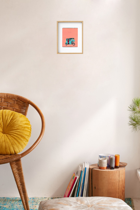 Trycicle in Liliw | Obra gráfica de Pablo Colomo | Compra arte en Flecha.es