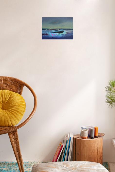 Refugio 10 | Pintura de Benito Salmerón | Compra arte en Flecha.es