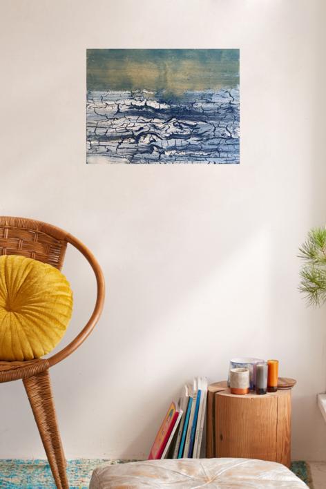 Deshielo II   Pintura de Enric Correa   Compra arte en Flecha.es