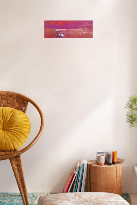 No te olvides la toalla | Pintura de Carmen Montero | Compra arte en Flecha.es