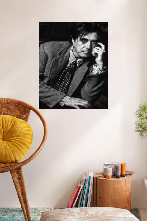 Bryan Ferry(Roxy Music) | Fotografía de Domingo J. Casas | Compra arte en Flecha.es
