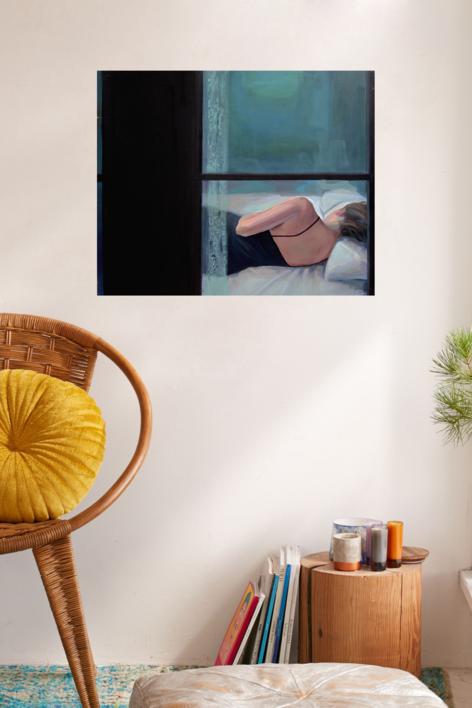 Ladrón de sueños   Pintura de Carmen Montero   Compra arte en Flecha.es