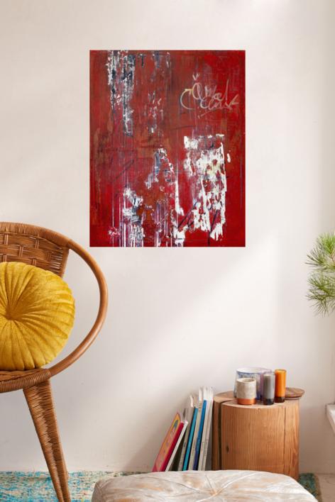 REDDOG | Pintura de Ana Dévora | Compra arte en Flecha.es
