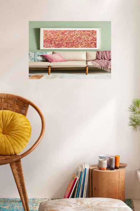 China Cat Sunflower | Pintura de Rocío Cervera | Compra arte en Flecha.es