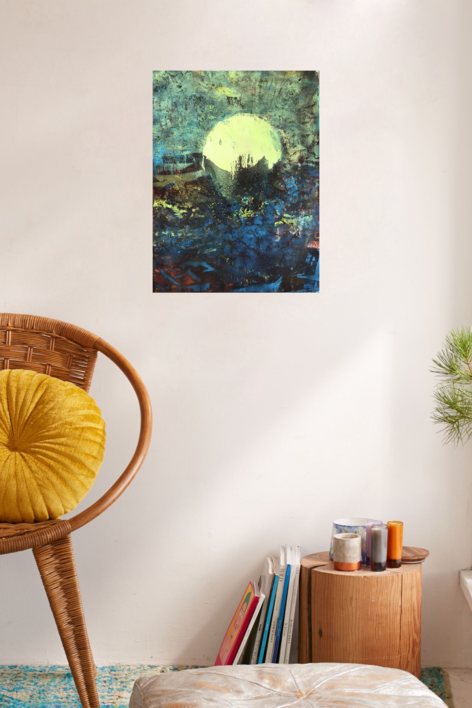 Sunset   Pintura de Enric Correa   Compra arte en Flecha.es