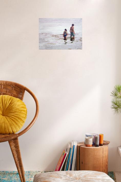 Mar de plata | Pintura de Carmen Montero | Compra arte en Flecha.es