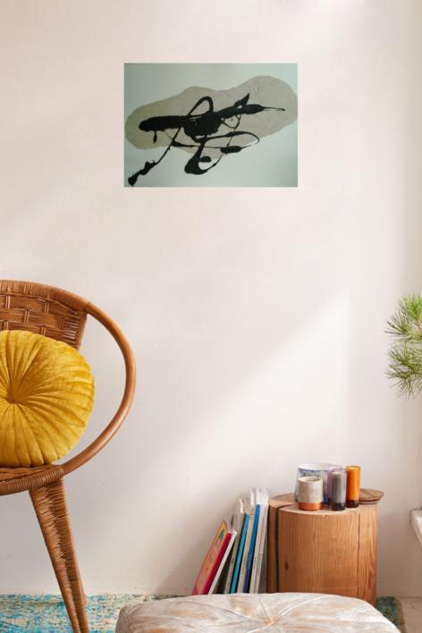 La mancha | Obra gráfica de Carmina Palencia | Compra arte en Flecha.es